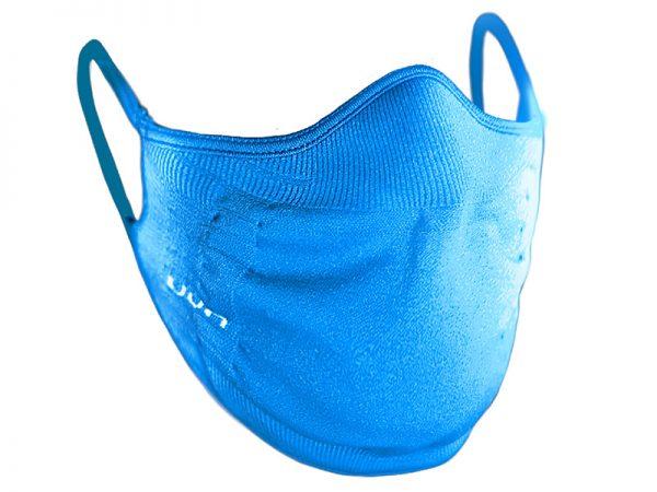 Maska ochronna UYN Blue - maseczka do sportu niebieska